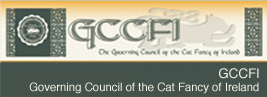 GCCFI - Governing Council of the Cat Fancy of Ireland - visit website